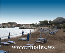 KOLIMBIA BEACH - RHODES - GREECE