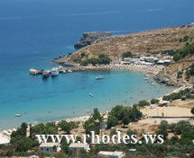Lindos Beach | Rhodes Island | Greece