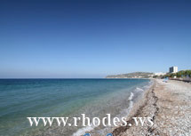 Ixia Beach | Island Rhodes | Greece