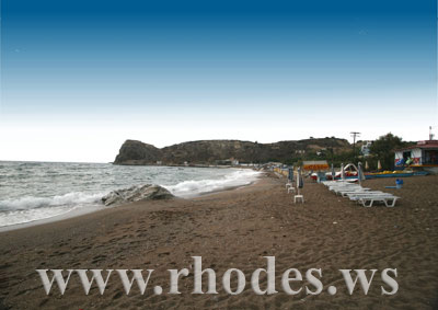 STEGNA BEACH - RHODES, GREECE