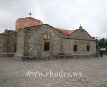 Church of Asklipios on island Rhodes Greece